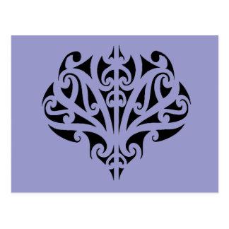 Cartão Postal Design maori