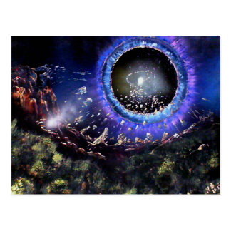 Cartão Postal Desmontando um planeta