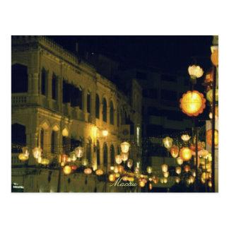 Cartão Postal Destino do turista de Macau