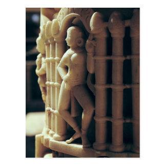 Cartão Postal Detalhe de uma coluna, ANÚNCIO c.1230