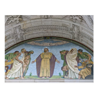 Cartão Postal Detalhes da catedral de Berlim