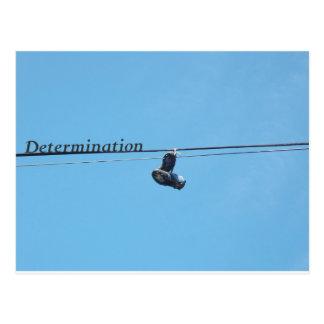 Cartão Postal Determinação