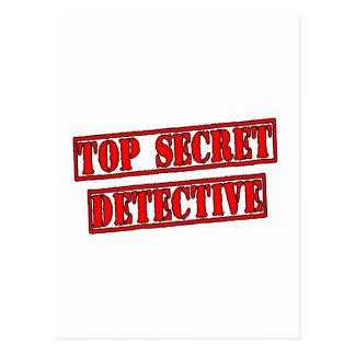 Cartão Postal Detetive extremamente secreto