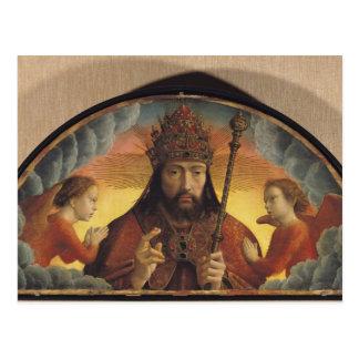 Cartão Postal Deus a bênção do pai, 1506