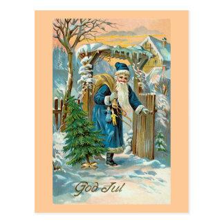 """Cartão Postal """"Deus julho """""""