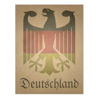 Cartão Postal Deutsch-Eagle