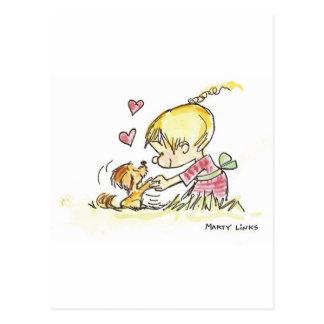 Cartão Postal Devoção do Doggy VDA-006