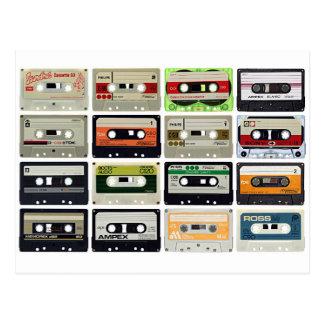 Cartão Postal Dezesseis cassetes áudio