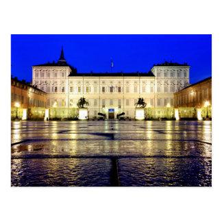 Cartão Postal Di Torino do reale de Palazzo
