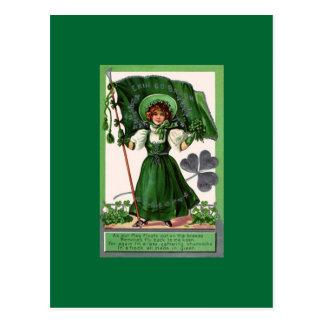 Cartão Postal Dia 3 de Staint Patrick