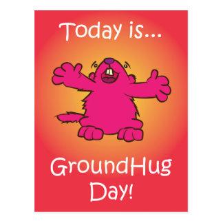 Cartão Postal Dia à terra do abraço