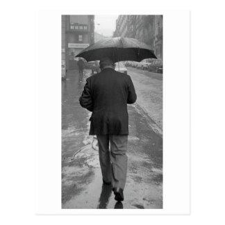 Cartão Postal Dia chuvoso