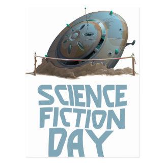 Cartão Postal Dia da ficção científica - dia da apreciação
