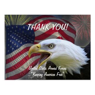 Cartão Postal Dia da Independência 4 de julho de 2011
