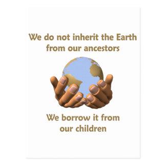 Cartão Postal Dia da Terra