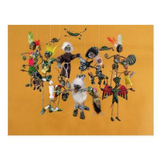 Cartão Postal Dia das figuras inoperantes, de Oaxaca