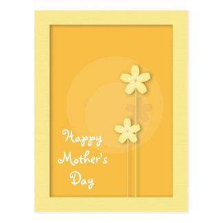 Cartão Postal Dia das mães feliz