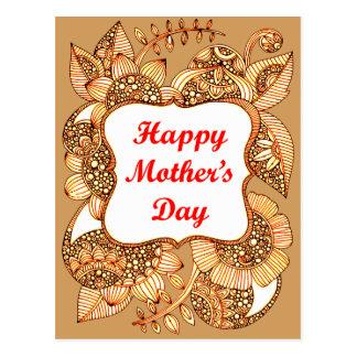 Cartão Postal Dia das mães feliz 2