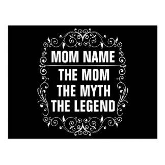Cartão Postal Dia das mães feliz da mamã