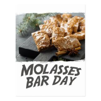 Cartão Postal Dia do bar do melaço - dia da apreciação