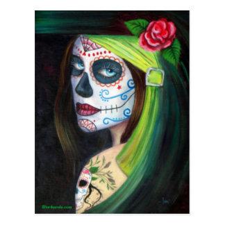 Cartão Postal Dia do morto por Lori Karels