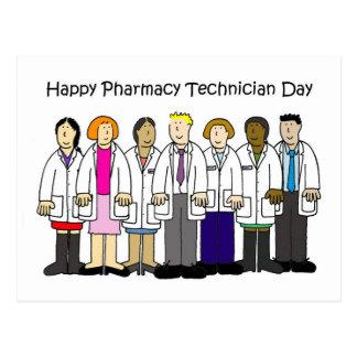 Cartão Postal Dia do técnico da farmácia