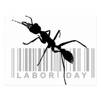 Cartão Postal Dia do Trabalhador
