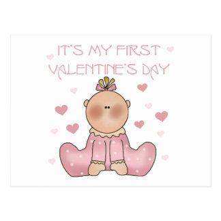 Cartão Postal Dia dos namorados do bebé ø