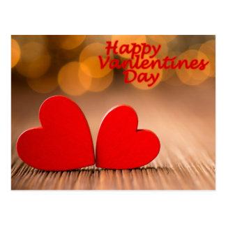 Cartão Postal dia dos namorados feliz
