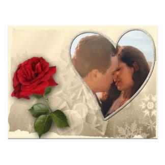 Cartão Postal Dia dos namorados personalizado da foto