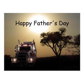 Cartão Postal Dia dos pais dos camionistas