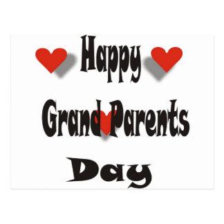 Cartão Postal Dia grande feliz dos pais