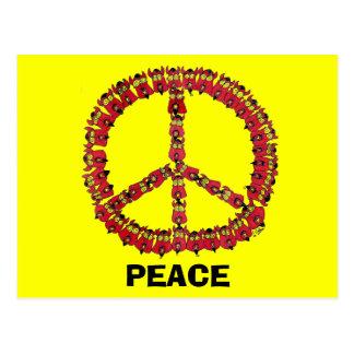 Cartão Postal Diabos da paz