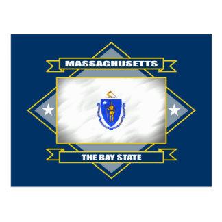Cartão Postal Diamante de Massachusetts