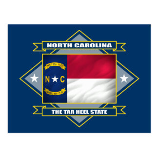 Cartão Postal Diamante de North Carolina