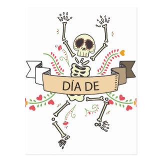 Cartão Postal Diâmetro DE Festival do morto