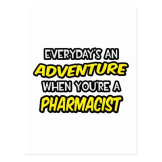 Cartão Postal Diário um farmacêutico da aventura…