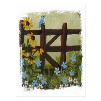 Cartão Postal Dias azuis