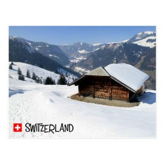 Cartão Postal Diemtigtal, Switzerland - Suíça