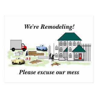 Cartão Postal Diga seus vizinhos sobre seu projeto Home