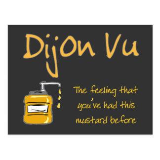Cartão Postal Dijon Vu