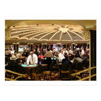 Cartão Postal Dinheiro de jogo Vegas do jogo do casino da roleta