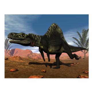 Cartão Postal Dinossauro de Arizonasaurus - 3D rendem