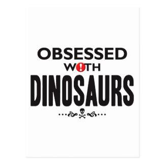 Cartão Postal Dinossauros obcecados