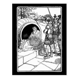Cartão Postal Diogenes de Sinope