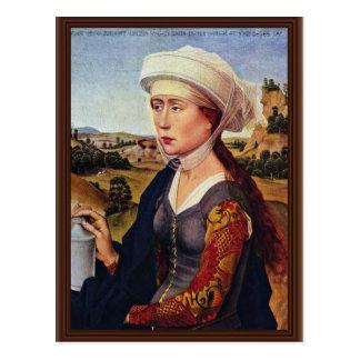 Cartão Postal Direita de Braquealtar: Maria Magdalena