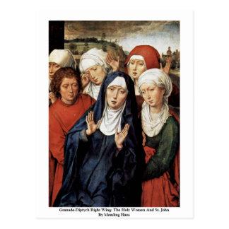 Cartão Postal Direita do Granada-Diptych