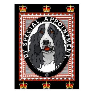 Cartão Postal Direitos do Spaniel de rei Charles
