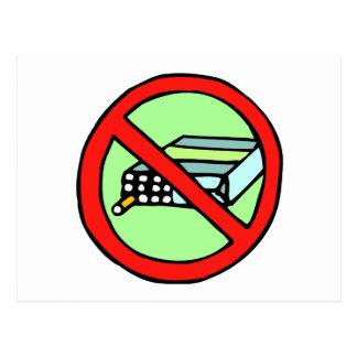 Cartão Postal Direitos do tabaco