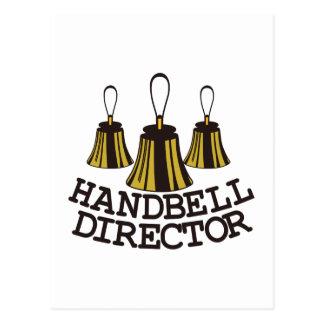 Cartão Postal Diretor do Handbell